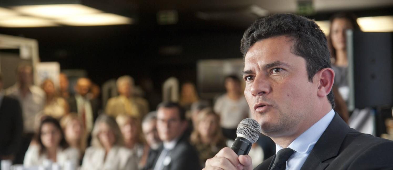 O juiz Sérgio Moro participa de evento promovido pelo GLOBO Foto: Adriana Lorete / Agência O Globo