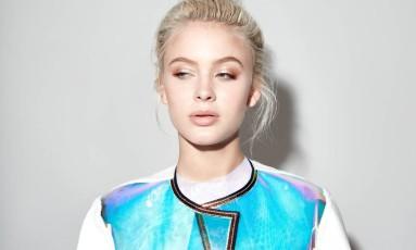 Zara Larsson: cantora sueca é fashionista assumida Foto: Divulgação