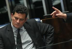 O juiz Sergio Moro Foto: Andre Coelho 01/12/2016 / Agência O Globo