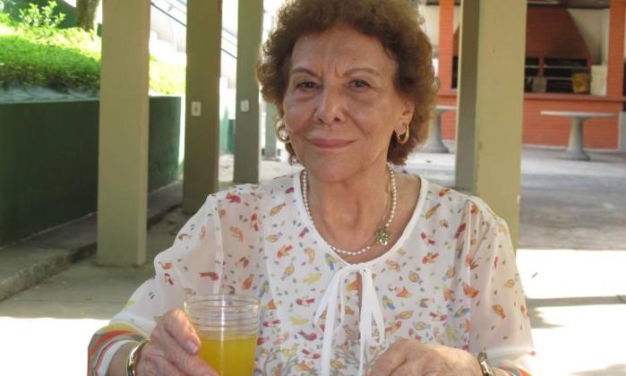 """Terezinha Saraiva: """"O projeto não é assistencialista e sim de desenvolvimento social"""" Foto: Mauro Ventura / O GLOBO"""