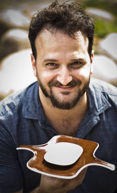 Jayme Koatz com a petisqueira Ipanema do Tezê Foto: Agência O Globo
