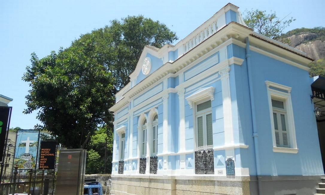 O Museu Internacional de Arte Naïf, no Cosme Velho, Zona Sul do Rio Foto: Divulgação