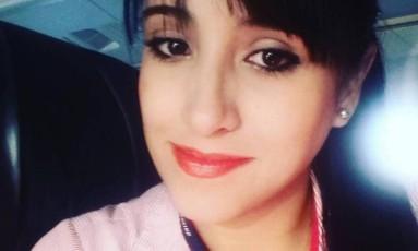 Ximena Suárez foi uma das sobreviventes do voo da Chapecoense. Ela está em choque Foto: Reprodução/Facebook