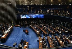 Audiência Pública no Senado Federal sobre abuso de autoridade Foto: Ailton de Freitas / Agência O Globo
