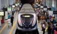 Esquema especial do metrô para o verão começa a funcionar neste sábado Foto: Extra/ Agência O Globo