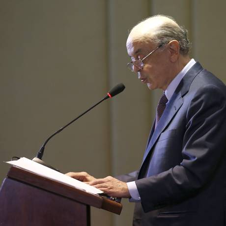 O ministro das Relações Exteriores, José Serra Foto: Jorge William / Agência O Globo/1-11-2016