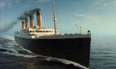 """Cena do filme """"Titanic"""" de 1996: na China, uma réplica de 270 metros está sendo construída Foto: Reprodução"""