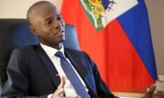 Vencedor em primeiro turno no Haiti, Jovenel Moise concede entrevista Foto: STRINGER / REUTERS