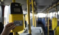 Bilhete Único Intermunicipal será suspenso aos usuários Foto: Fernando Lemos / Agência O Globo
