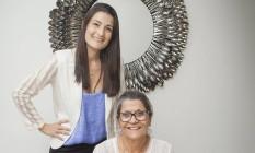 Sensações. Monique e Doris Abrantes, donas da D.A. Gastronomia Foto: Analice Paron / Agência O Globo