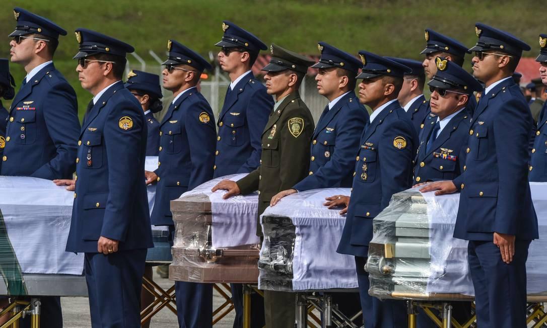 Os aviões da FAB farão escala, em Manaus, e chegam em Chapecó no início da manhã LUIS ACOSTA / AFP