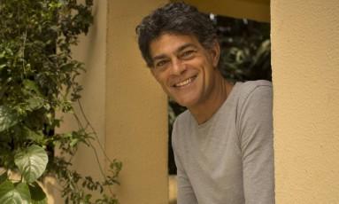 Eduardo Moscovis em Marechal Hermes: ator grava 'Questão de família' por lá Foto: Márcia Foletto