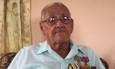 Luis Felipe Soto Carvallosa, ex-combatente da revolução Foto: Henrique Gomes Batista