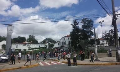 PUC-Minas usará os 12 prédios do campus (um deles dividido com a ocupação da universidade) para a realização do Enem Foto: Gabriela Garcia