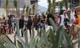 O grupo de dança Efeito Urbano estreou o novo parque Foto: Custódio Coimbra