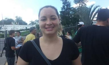 Isabelle disse que sempre fez o Enem e comenta a prova na internet Foto: Gabriela Garcia