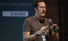 Ben Hammersley se apresentou no último dia de Wired Festival Foto: André Mourao / Agência O Globo
