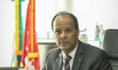 Miranda, procurador-geral: casos de corrupção espalhados no país Foto: ANDRE COELHO / André Coelho