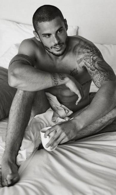 Mais de Baptiste Giabiconi, que tem no currículo trabalhos para as grifes Chanel, Karl Lagerfeld e Balmain, por exemplo Reprodução/ Instagram