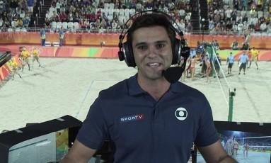 Guilherme Marques teve carreira meteórica na TV Foto: Reprodução