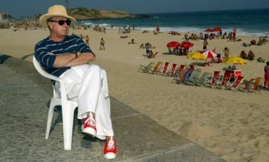 Julio Rego em 2004 Foto: Marcos Ramos / Agência O Globo