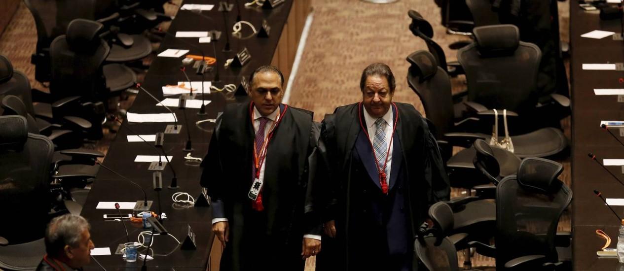 O desembargador Luiz Zveiter foi eleito presidente do Tribunal de Justiça do Rio Foto: Pablo Jacob / Agência O Globo
