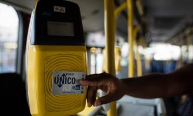 O estado deve R$ 17 milhões em subsídios às concessionárias de transporte, segundo o secretário de transportes, Rodrigo Vieira. Foto: Fernando Lemos