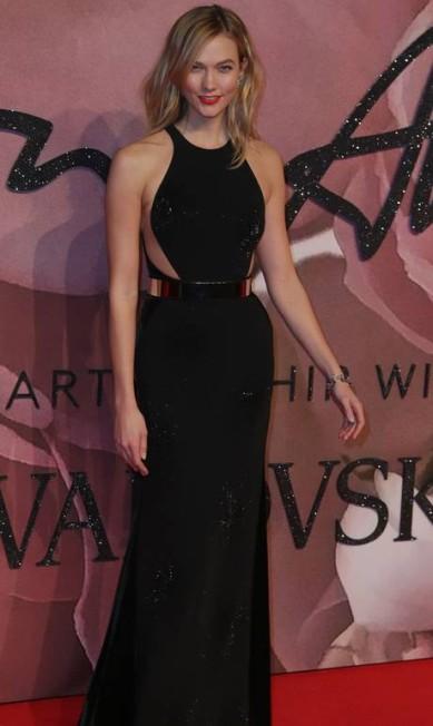 A modelo americana Karlie Kloss DANIEL LEAL-OLIVAS / AFP