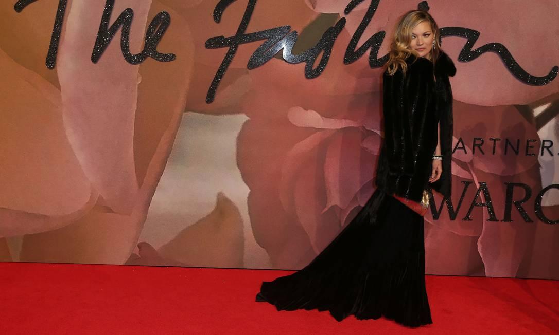 O charme de Kate Moss DANIEL LEAL-OLIVAS / AFP