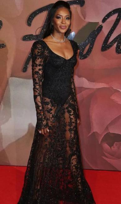A modelo britânica Naomi Campbell DANIEL LEAL-OLIVAS / AFP