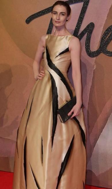 A modelo britânica Erin O'Connor DANIEL LEAL-OLIVAS / AFP