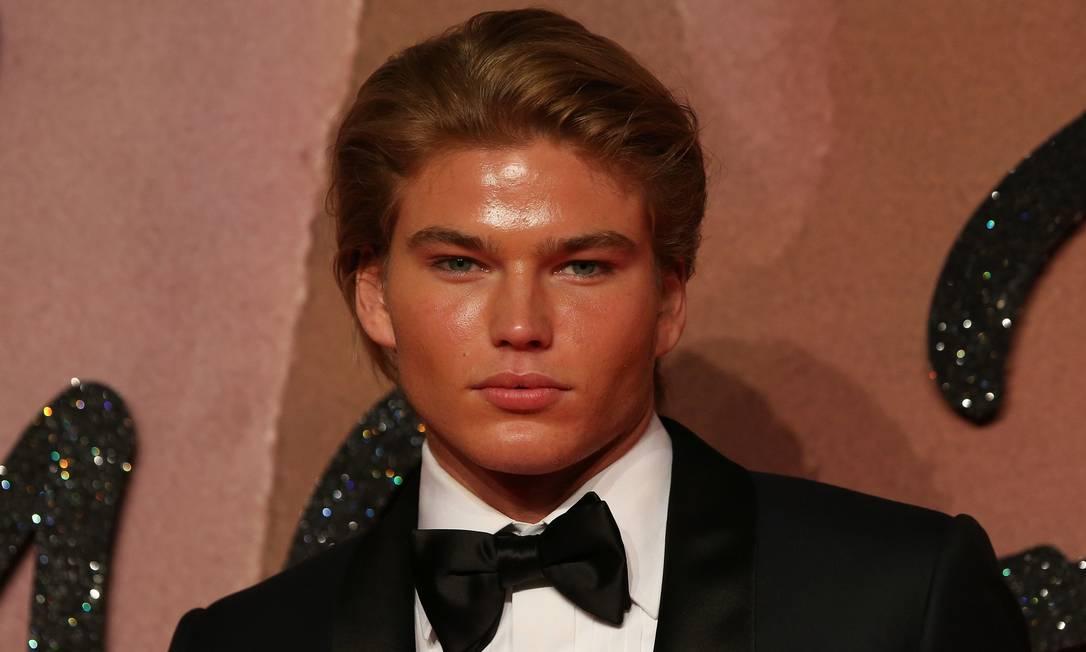 O modelo Jordan Barrett DANIEL LEAL-OLIVAS / AFP
