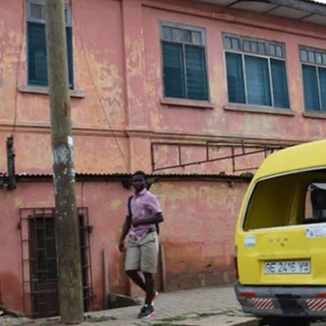 Prédio em Acra se passava pela embaixada americana Foto: Reprodução