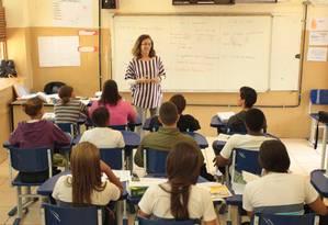 Estudantes brasileiros têm dificuldade em conhecimentos básicos de matemática, leitura e ciências Foto: Gabriel de Paiva / Agência O Globo