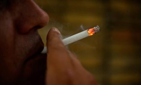 A mortalidade prematura entre os fumantes leves resulta principalmente do câncer de pulmão Foto: Lucas Lacaz Ruiz / Agência O Globo