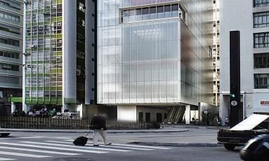 Concepção do IMS Paulista, com espaço para shows, filmes e cursos Foto: Reprodução