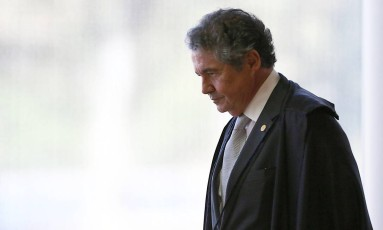 O ministro Marco Aurélio Mello, do Supremo Tribunal Federal Foto: Jorge William / Agência O Globo / 8-6-2016