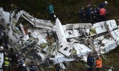 Acidente em voo da Lamia deixou 71 mortos Foto: Raul Arboleda / AFP