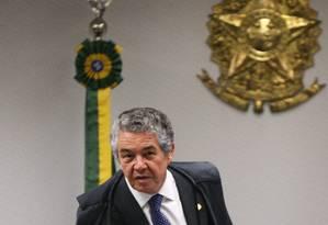 O ministro Marco Aurélio Mello, do Supremo Tribunal Federal Foto: ANDRE COELHO / Agência O Globo