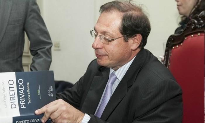O ministro Luis Felipe Salomão, do STJ Foto: Reprodução