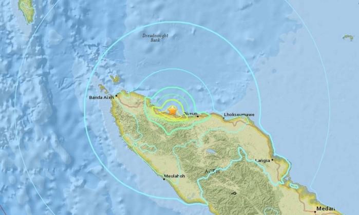 Resultado de imagem para terremoto indonésia 6,5 dezembro 2016