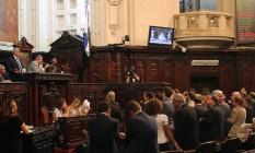 Deputados votam projetos do pacote de ajuste do governo em 06/12/2016 Foto: Thiago Lontra / Divulgação Alerj