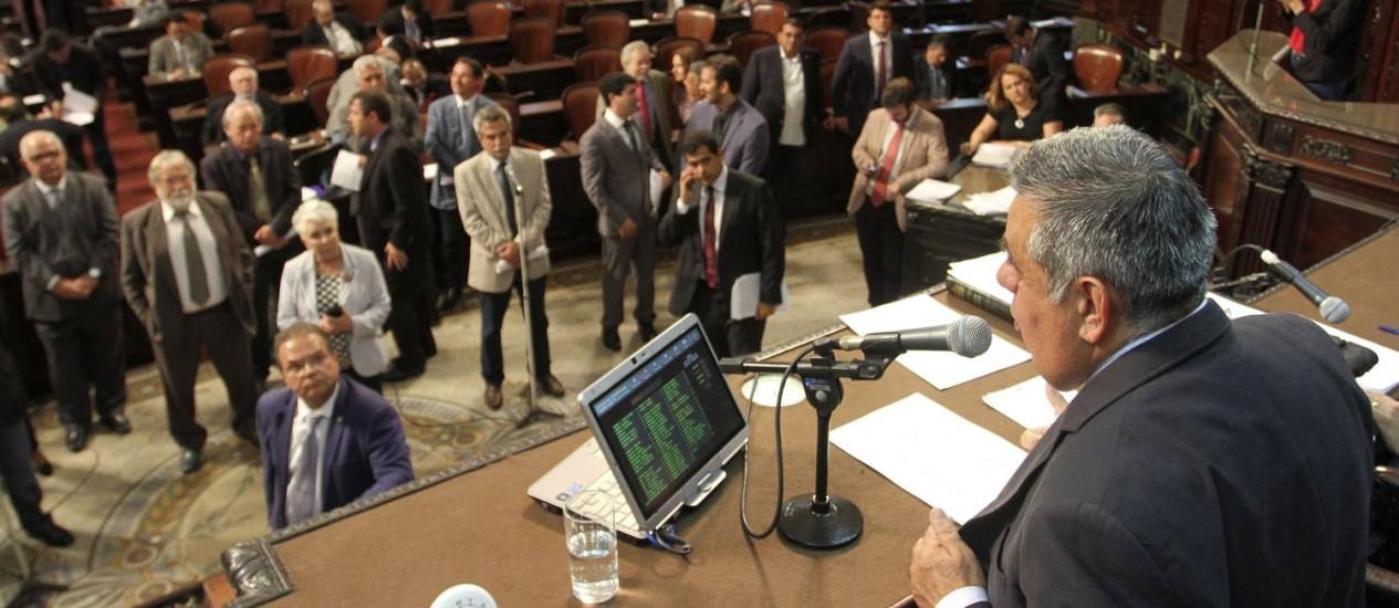 Deputados votam medidas do pacote de ajuste do governo do estado Foto: Octacilio Barbosa / Divulgação Alerj