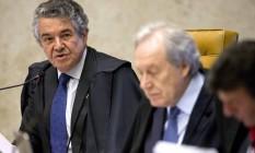 Supremo Tribunal Federal julga se mantém liminar que afastou Renan Calheiros da presidência do Senado Foto: Jorge William / Agência O Globo