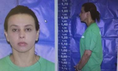 A ex-primeira-dama Adriana Ancelmo após ser presa Foto: Reprodução