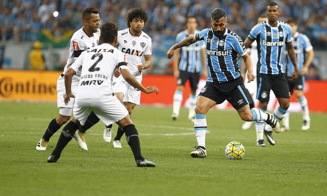 5e372caaeefd4 Grêmio empata com Atlético-MG e é campeão da Copa do Brasil - Jornal ...