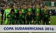 Chapecoense perdeu quase todo o time após acidente aéreo Foto: Nelson Almeida / AFP