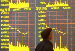 As exportações em novembro subiram inesperadamente 0,1 por cento em relação ao ano anterior, ante previsão de recuo de 5 por cento. Foto: Reuters/Stringer Foto: Reuters