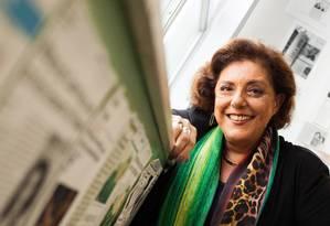 A apresentadora Leda Nagle Foto: Bárbara Lopes / Agência O Globo