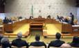 A sessão do Supremo Tribunal Federal (STF) que manteve Renan Calheiros na presidência do Senado